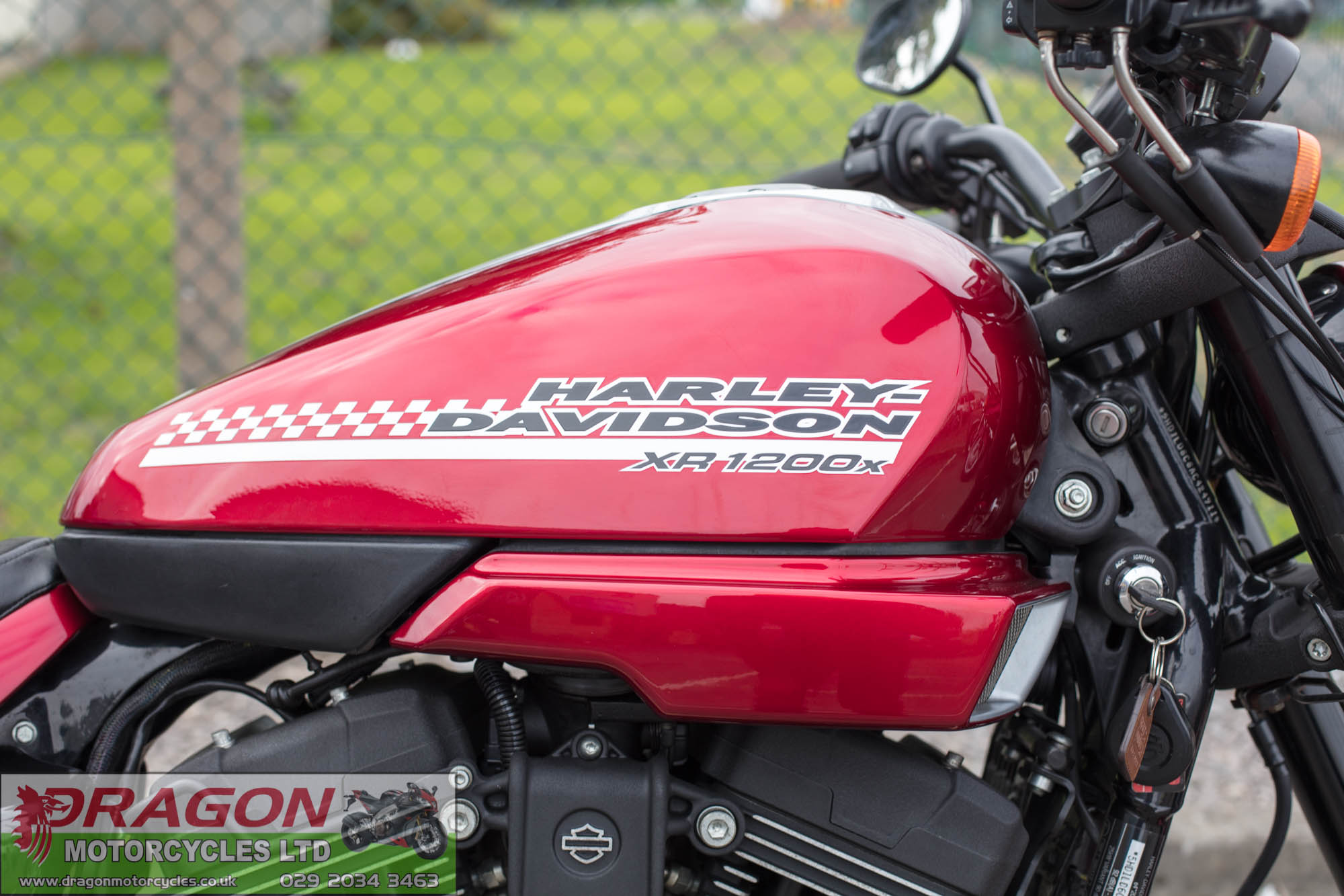 For Sale 2010 Harley Davidson XR1200X | Red/Black | Six